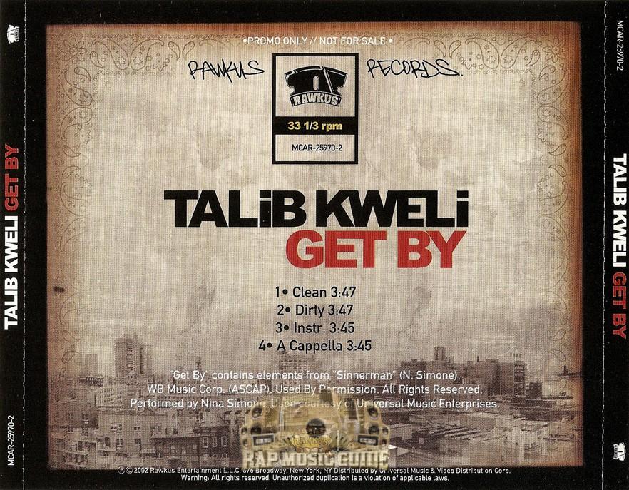 Talib Kweli Get by Remix Talib Kweli Get by
