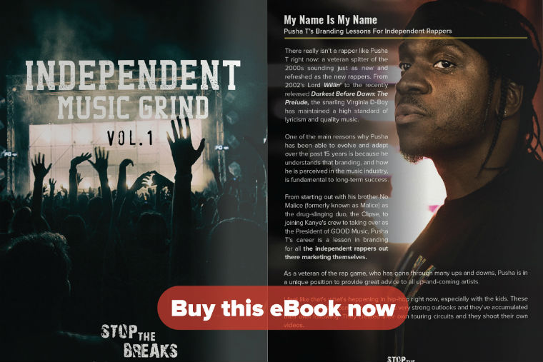 Ebook independent music grind vol 1 stop the breaks 1 is the first of many ebooks to come providing independent hip hop artists with the knowledge insights and motivation to grind their way to the top fandeluxe PDF