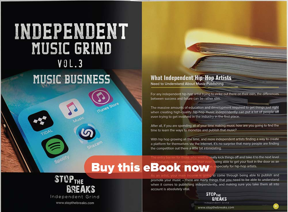 eBook: Independent Music Grind Vol. 3 – Music Business