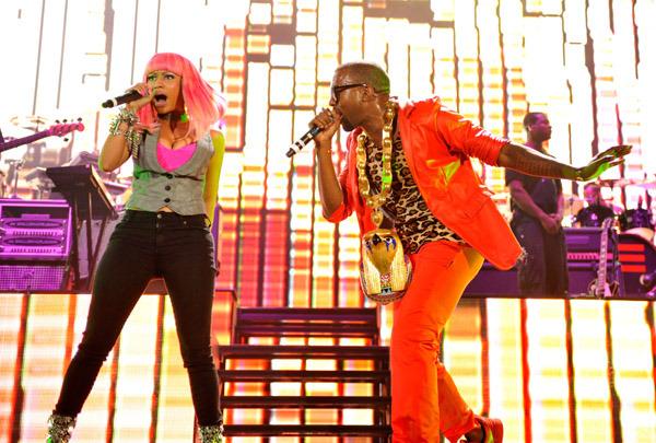 Image result for nicki minaj and Kanye