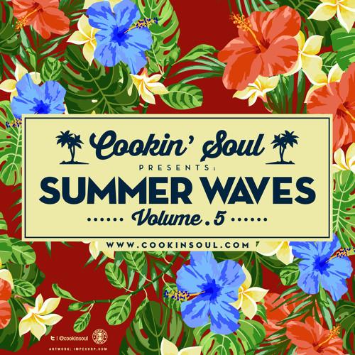 Cookin-Soul-Summer-Waves-5-Mixtape-Art