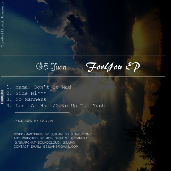 ForYouEp back cover