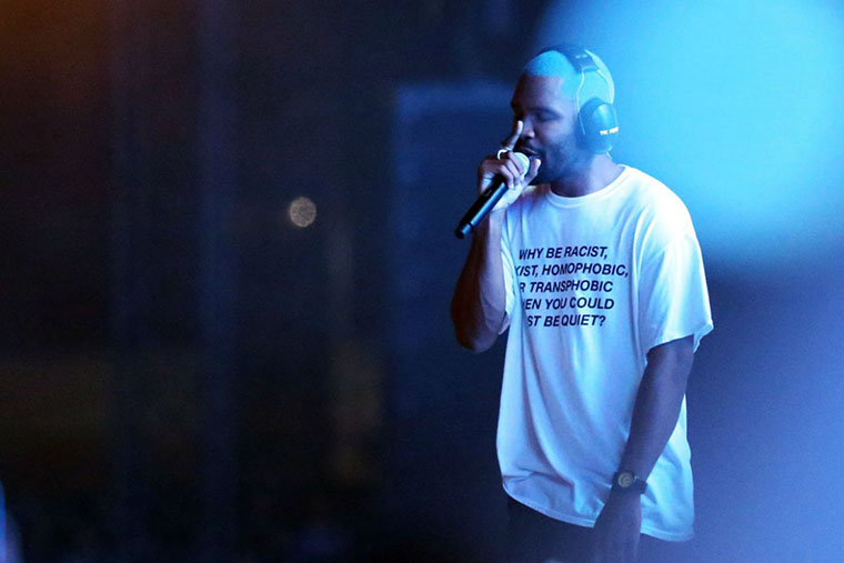 How Frank Ocean Made $1 Million in Two Weeks Going