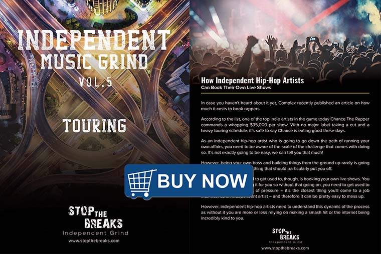 How Independent Hip-Hop Artists Can Book Their Own Live