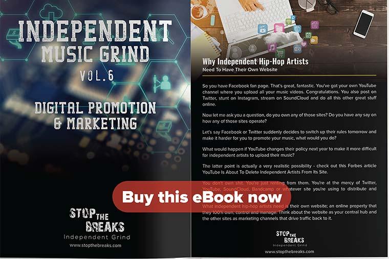 eBook: Independent Music Grind Vol  6 – Digital Promotion